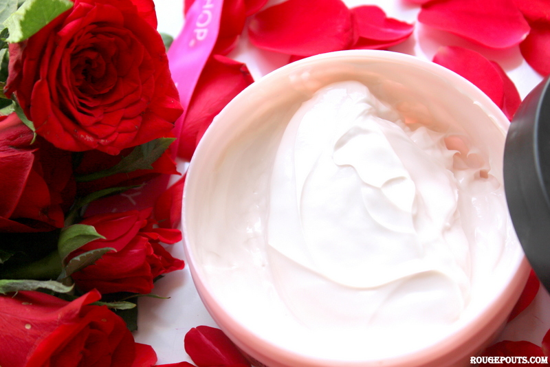 The Body Shop British Rose Body Butter Review and Swatch