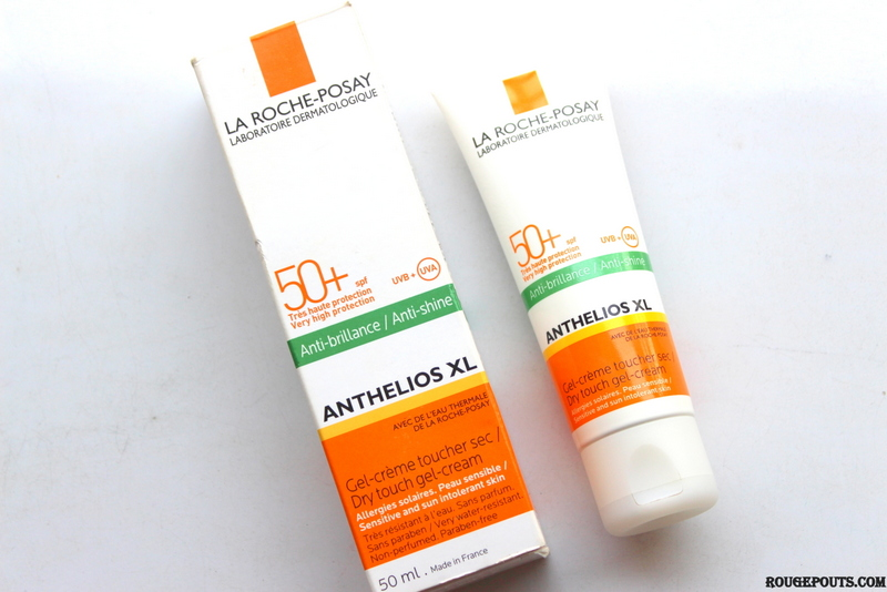 La Roche-Posay Dry Touch Gel Cream SPF 50+ Review and Swatch