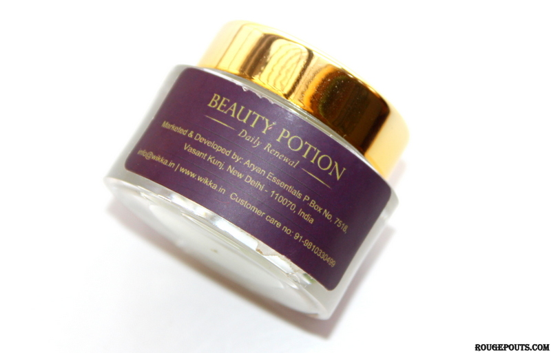 Wikka Beauty Potion Daily Renewal Cream Review and Swatch!
