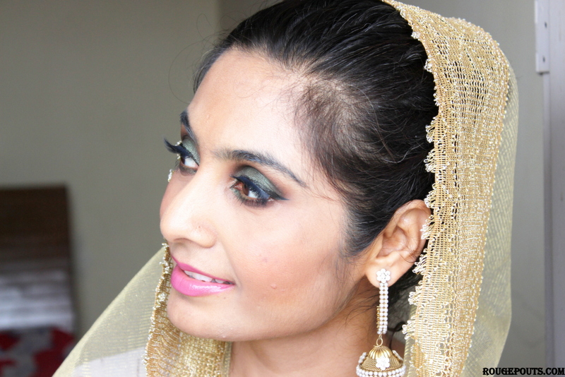 Go Glam with this Smokey Green Eid Make Up Tutorial!