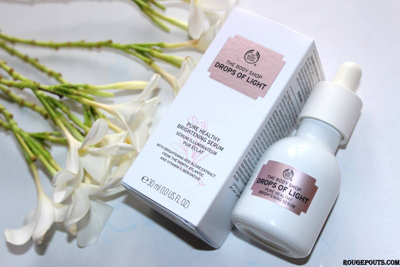 The Body Shop Drops of Light Pure Healthy Brightening Serum Review!