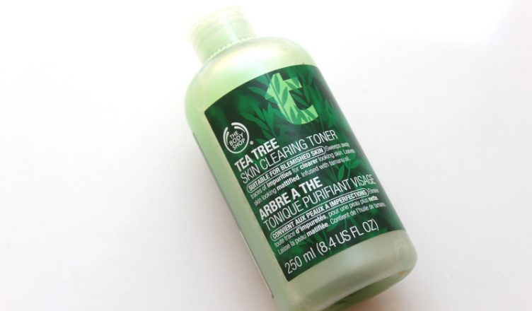 The Body Shop Tea Skin Clearing Tree Toner Review Rougepouts