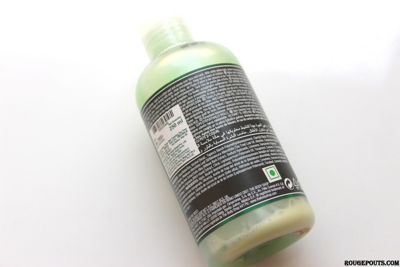 The Body Shop Tea Tree Toner Review!