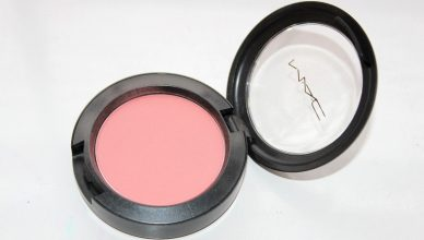MAC Powder Blush Fleur Power Review and Swatch