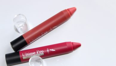 Faces Creme Lip Crayons Fantasy and Cherrypop Review and Swatches!