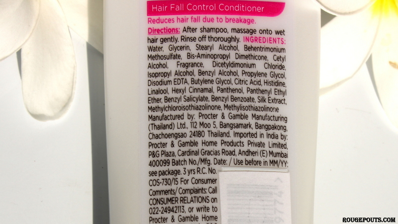 New Pantene Pro-V Hair Fall Control Shampoo and Conditioner Review!