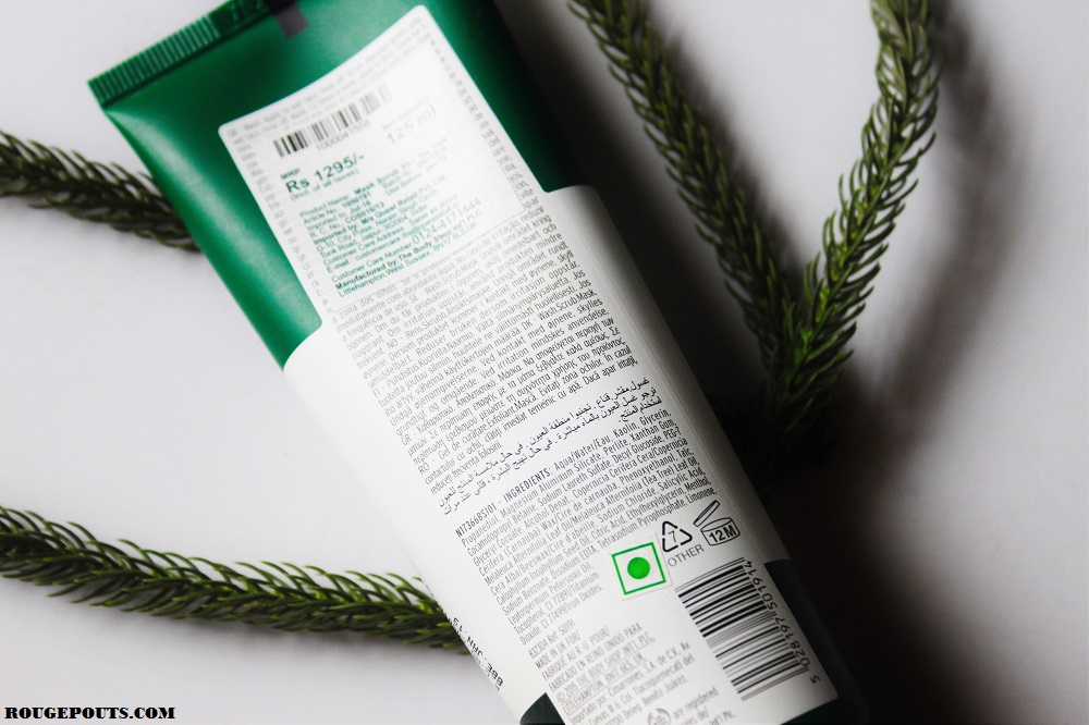 The Body Shop Tea Tree Wash.Scrub.Mask Review and Swatch!