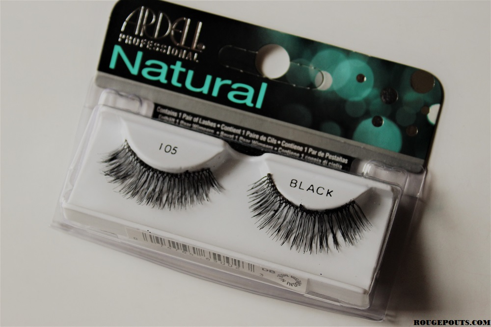 Ardell Professional Lashes In Natural 105 Black Review Rougepouts