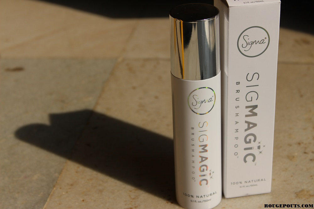 Sigma Sigmagic Brushampoo Review and Demo Video!
