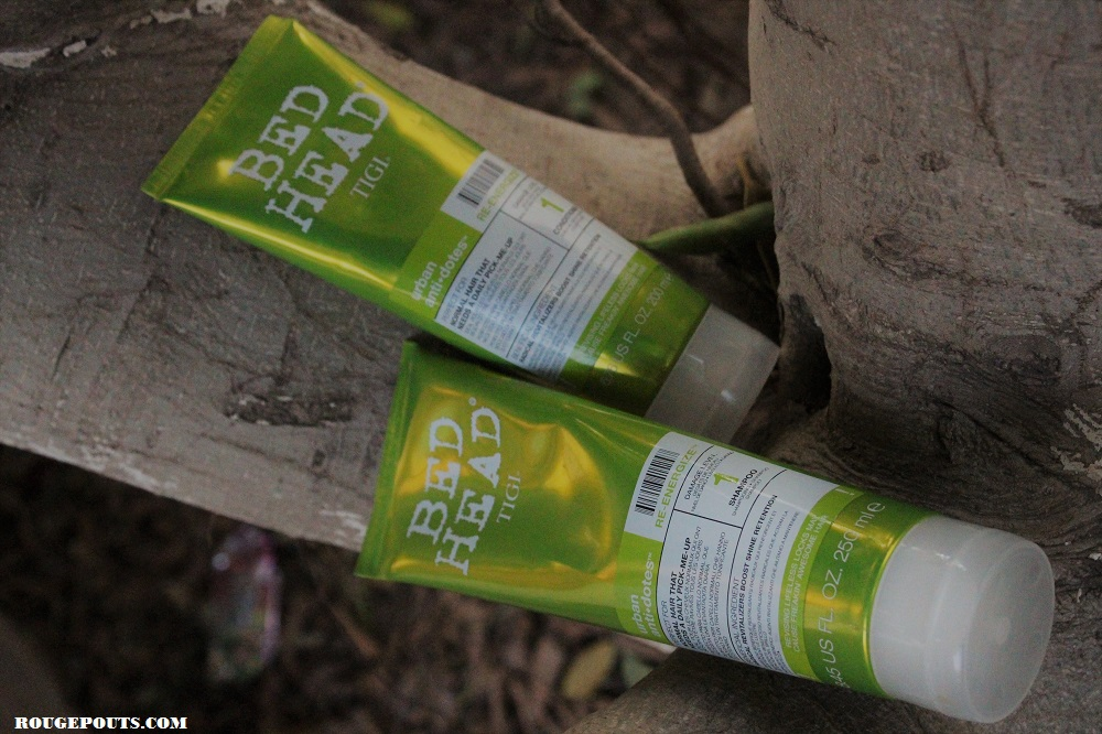 TIGI Bed Head Urban Anti+Dotes Re-Energize Level 1 Shampoo and Conditioner Review