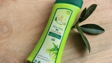TBC by Nature Aloe Vera and Cocoa Butter Body Lotion Review!