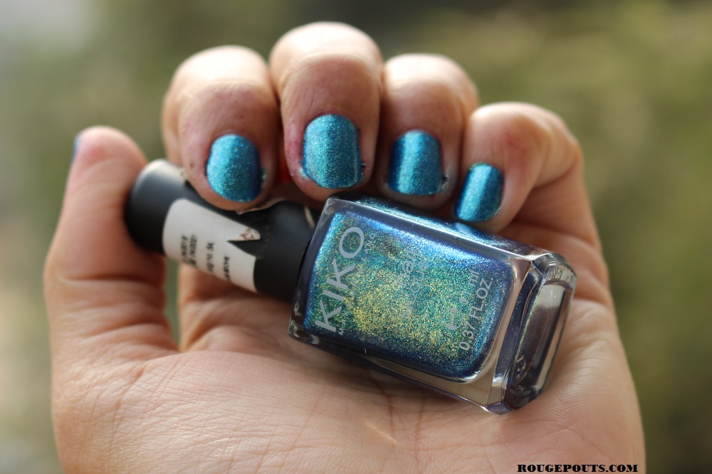 KIKO Nail Lacquer in Shade 530 Swatch!
