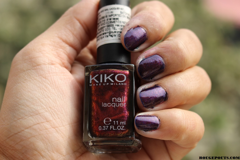 KIKO Nail Lacquer in Shade 497 Swatch!