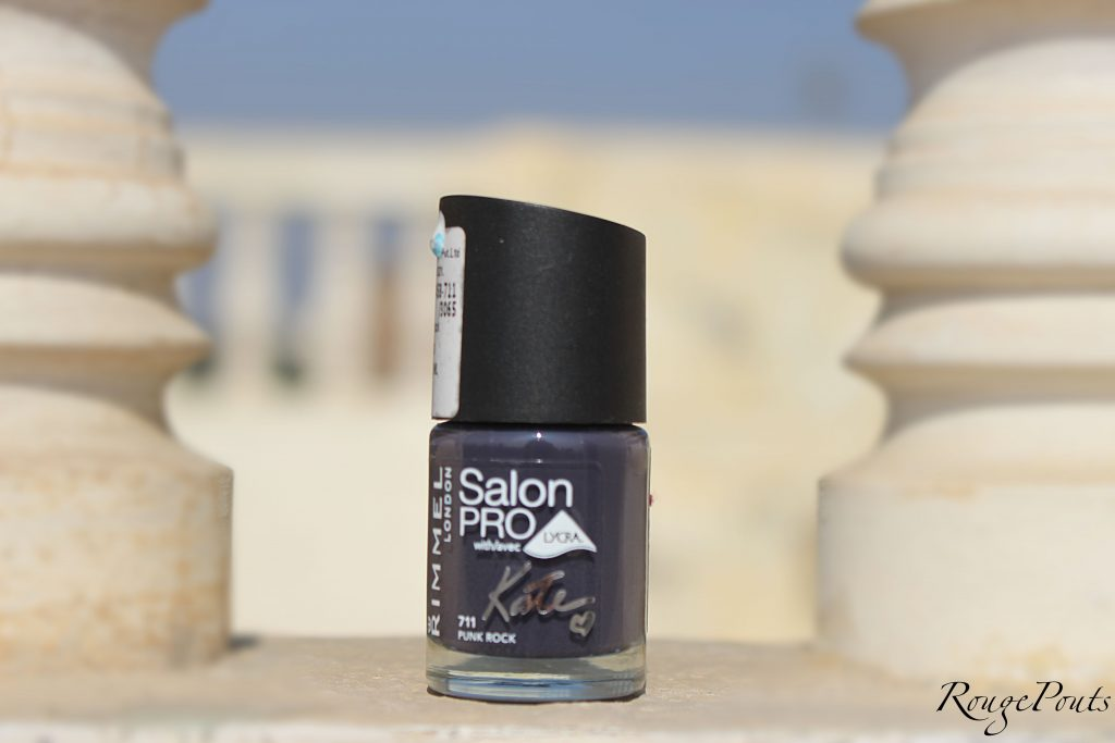 Rimmel London Salon Pro Kate Nail Paint in Punk Rock (711) Review and Swatch | RougePouts