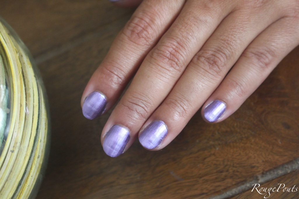 Nykaa Mirror Chrome Nail Lacquers Review and Swatches | RougePouts ...