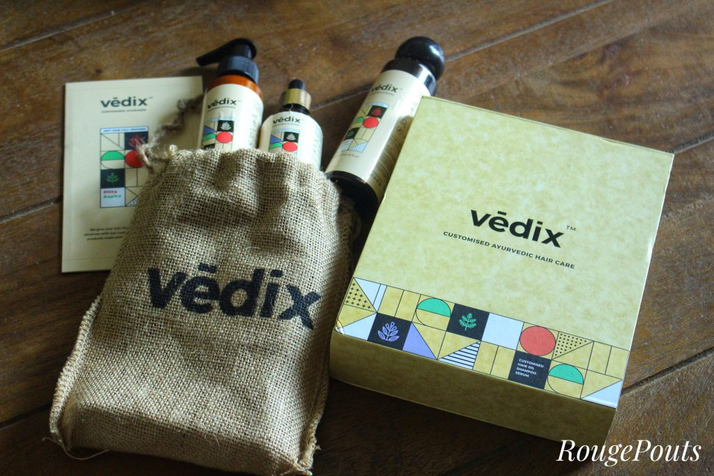 Vedix Customized Ayurvedic Hair Care Regimen Review Rougepouts Rougepouts