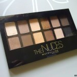 Maybelline The Nudes Eye Shadow Palette Review and Swatches