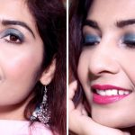 Makeup Tutorial for Indian Party | Blue Eye Makeup | RougePouts
